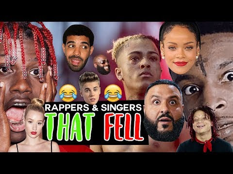 Rappers & Singers That FELL Compilation (XXXTentacion, Drake, 21 Savage, Iggy Azalea + More!!!)