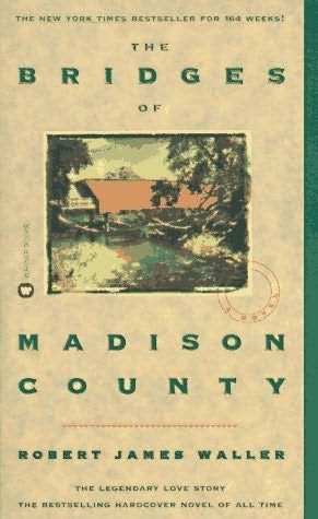 book cover of   The Bridges of Madison County