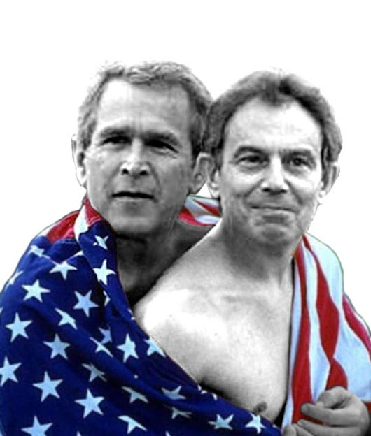 The 4th Media    » Leaked Memo Reveals Tony Blair's 'Deal In Blood' With George W. Bush Over Iraq War