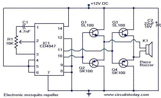 Secret Diagram  Buy Electronic Rat Trap Circuit Diagram