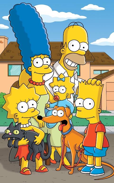 خلفية مسلسل عائلة سمبسون بدقة عالية