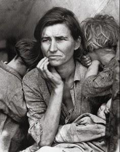Las fotos de la historia: Madre Emigrante