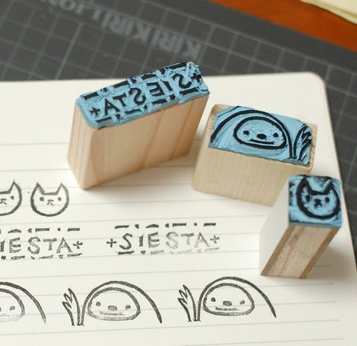 how to make handmade stamps