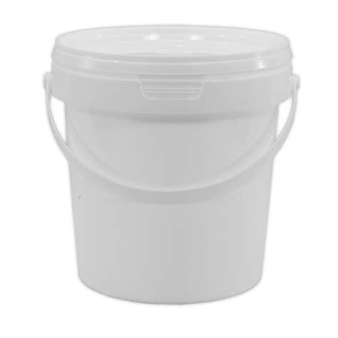 litre food grade plastic bucket  lid multipurpose