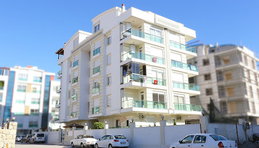 North East Facing 2+1 Apartments in Konyaalti Antalya