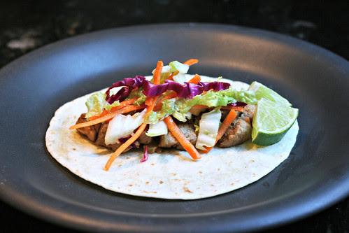 pork tenderloin tacos with tangy slaw