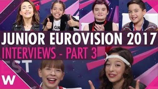 Junior Eurovision 2017 interviews: Malta, Italy, Ireland, Serbia, Portugal