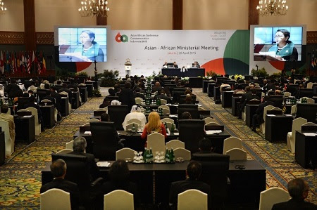 AsianAfrican Summit Conference Adopts Three Documents About Bandung Message, Strategic