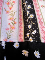 Details of the two fabric types.