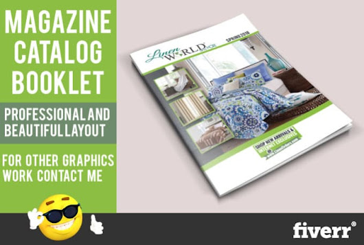graphic92 : I will design a professional catalog magazine, other graphics work for $110 on www.fiverr.com