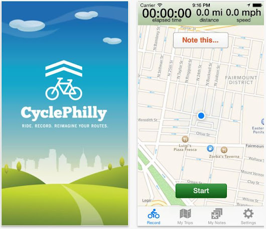 CyclePhilly hopes to record biking patterns to help plan bike lanes