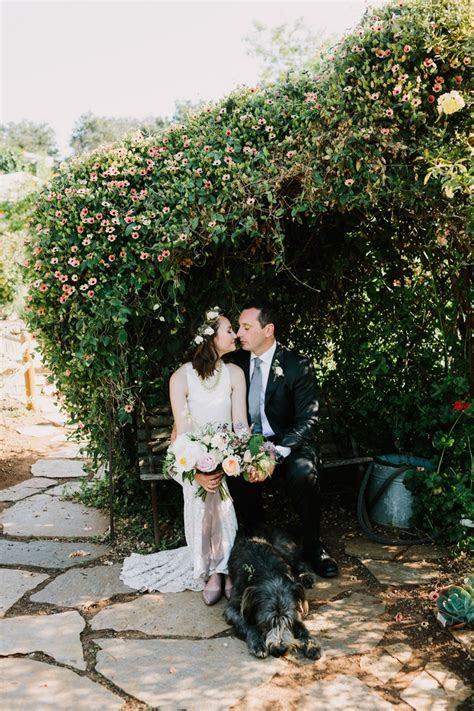cynthia  johns  home california wedding intimate