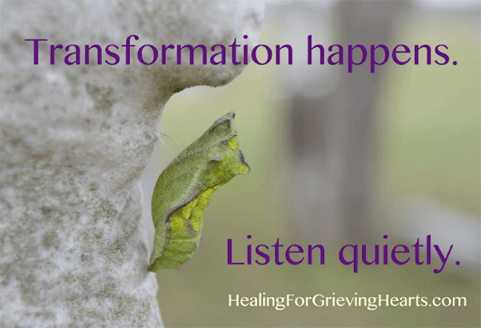 Can you transform your grief?
