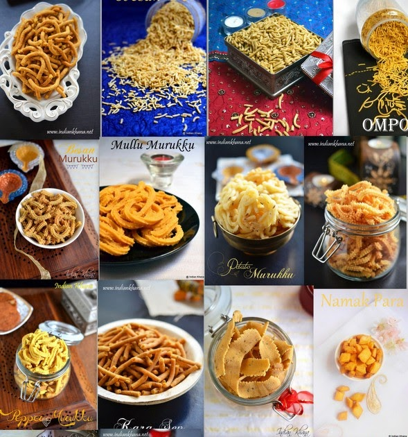 Easy Diwali Savory Snacks