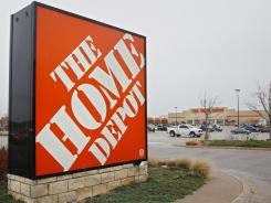 A Home Depot store in Edmond, Okla.