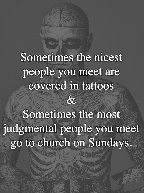 Sometimes The Nicest People You Meet Quotes Area