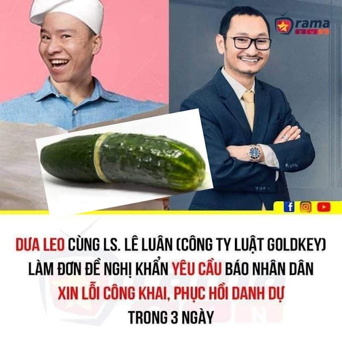 Sự kết hợp tuyệt cmn vời giữa Dưa Leo và luật sư Lê Văn Luân, Hãy chở xem