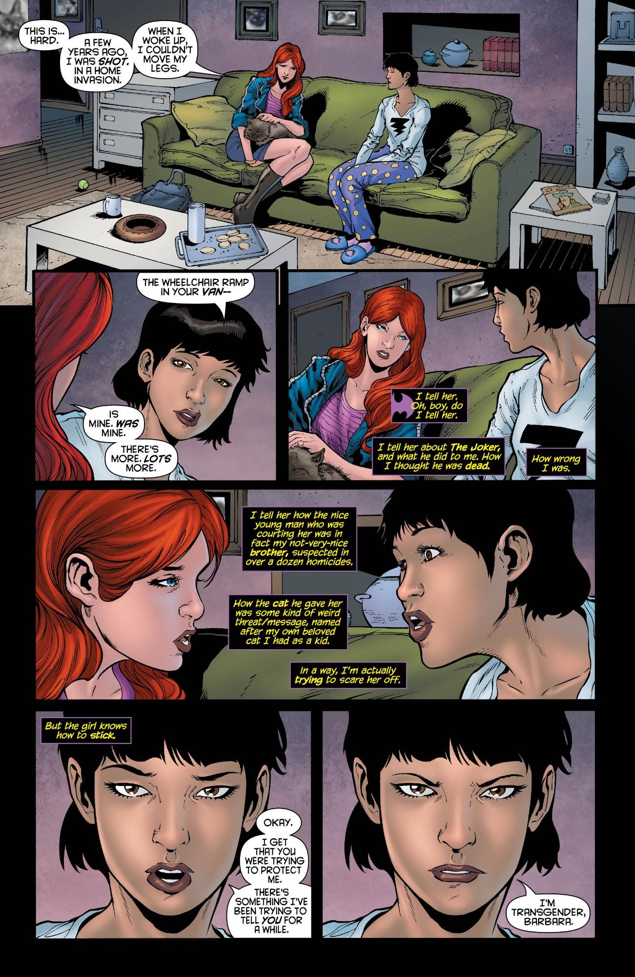 Batgirl #19 interior pages