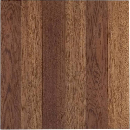 Achim Tivoli Medium Oak Plank Look 12x12 Self Adhesive Vinyl Floor