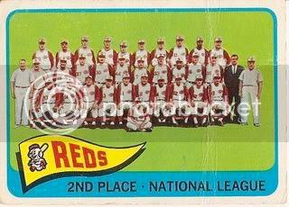 #316 Cincinnati Reds Team