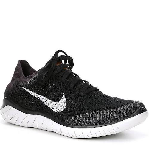 08716bf44603d Nike Free RN Flyknit 2018 Women s Running Shoe Size 10 (Black ...