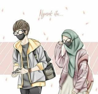 Muslimah Couple Anime Terpisah Terbaru - KLICKSEHAT.CLUB