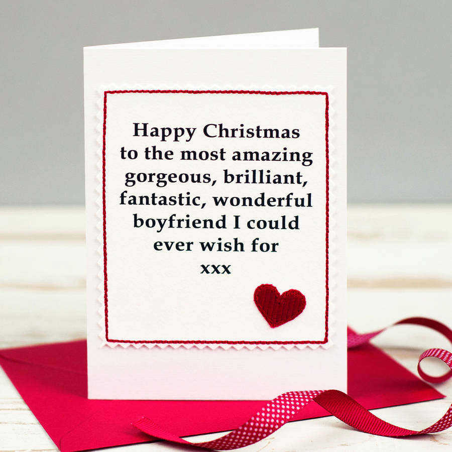 Christmas Card From Husband To Wife - Merry Ce