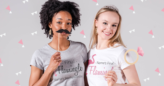 Flamingo Bachelorette Party Shirts - Bridal Party Tees