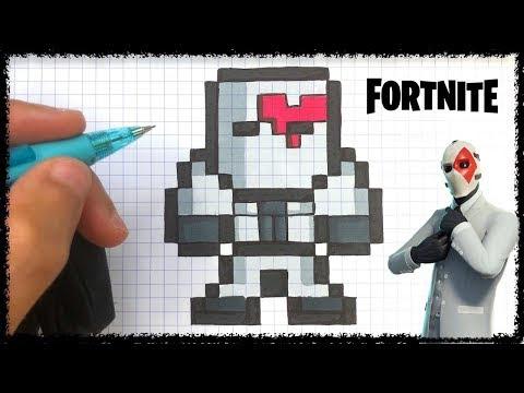 Dibujos Pixelados De Fortnite Skins Buckfort No Verification
