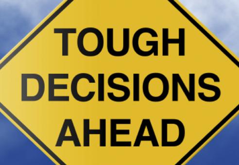 Making Tough Decisions
