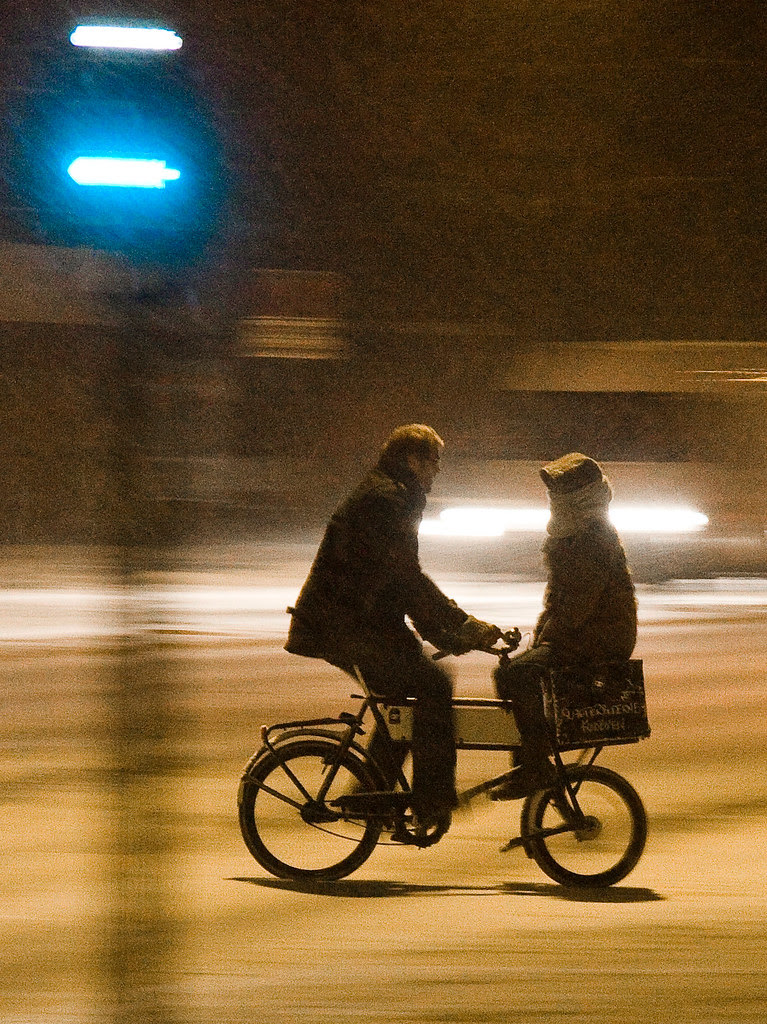 Snowstorm Doubling - Cycling in Winter in Copenhagen