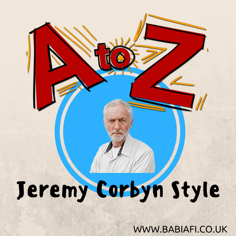 A-Z of Jeremy Corbyn Fashion