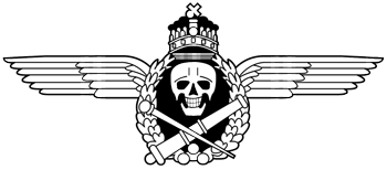 Hungarian Assault Artillery Badge