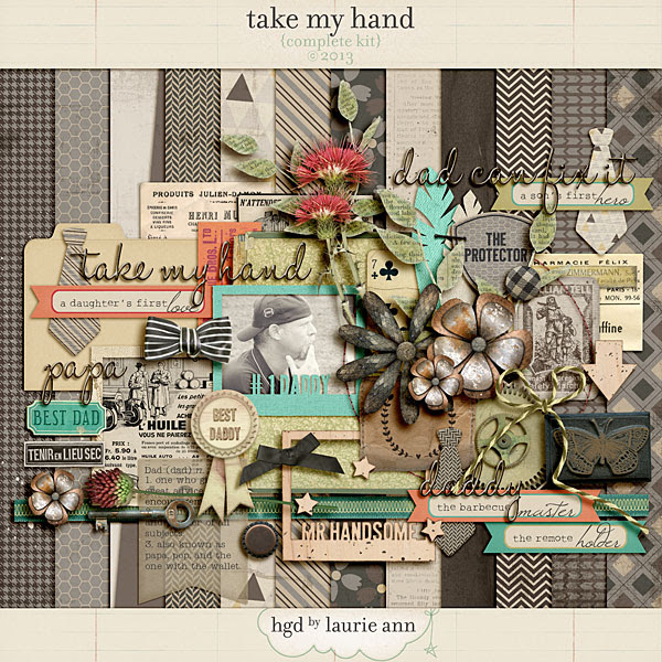 Take My Hand by Laurie Ann {complete kit}