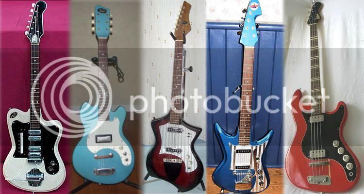 The Guitarz September 2008 pick of the guitars on eBay