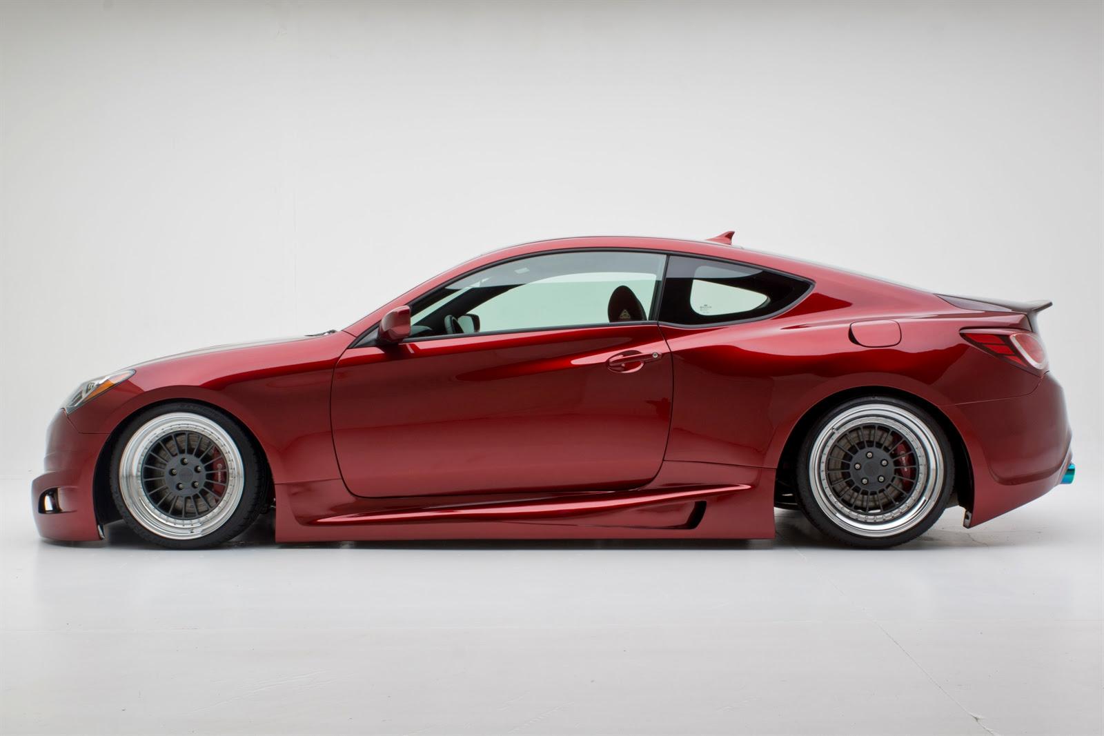 2012 SEMA: Hyundai Genesis Coupe by FuelCulture ...