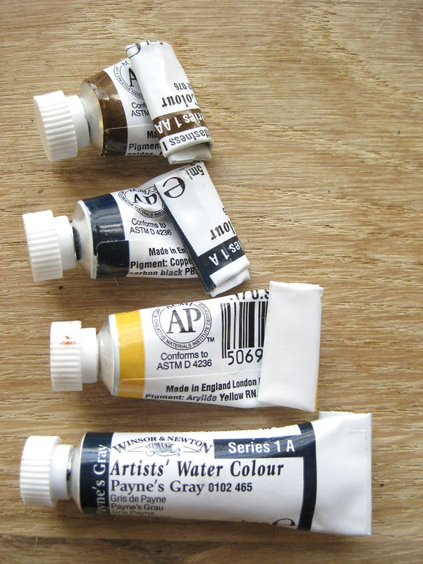 watercolor paint II