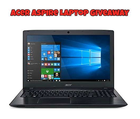 Acer Laptop Giveaway