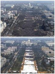 Les photographies de la foule à l'investiture de... (AP) - image 3.0