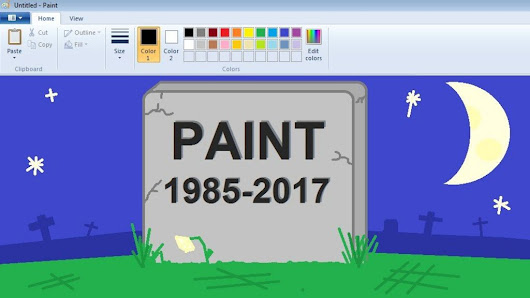 Microsoft signals end of Paint program - BBC News