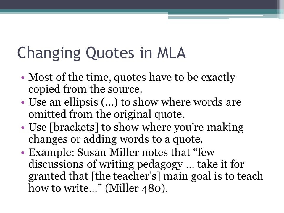 MLA Format All About Citation.  ppt video online download