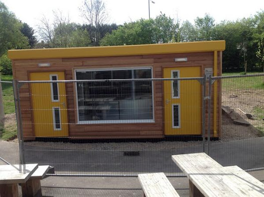Twitter / vicgoddard: Outdoor servery almost is almost ...