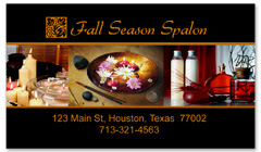 BCS-1093 - salon business card