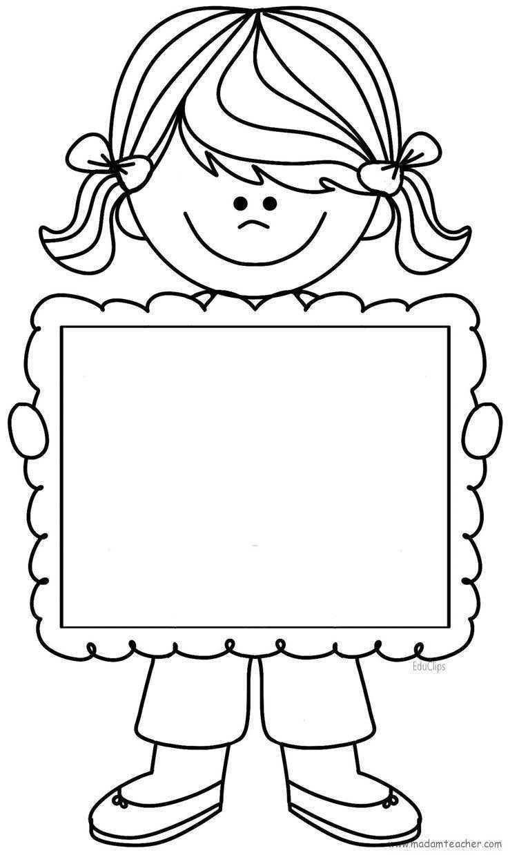 Kız Ve Erkek çocukları Boyama Sayfaları Okul öncesi Etkinlik