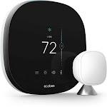 ecobee SmartThermostat Thermostat - Wi-Fi - Black