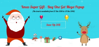 Xmas Super Gift from ExtStore - Buy One Give Mega Popup - ExtStore | Joomla Extensions