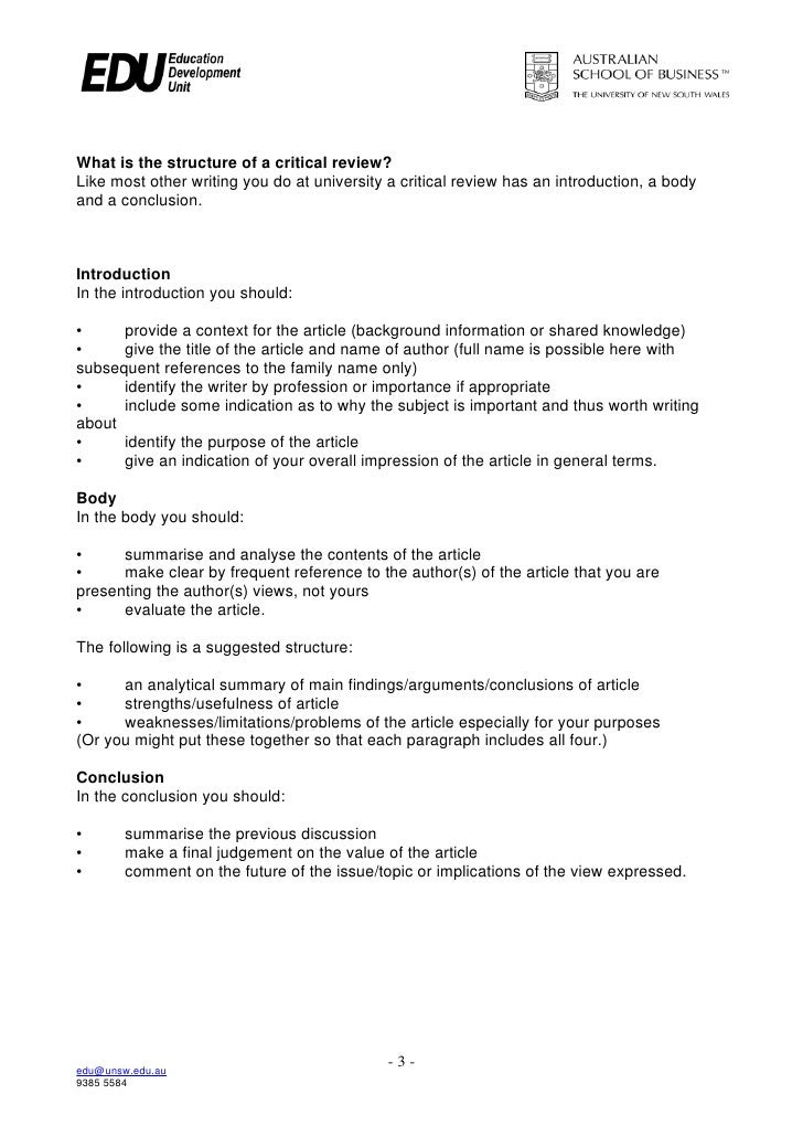how to write a critical analysis essay conclusion