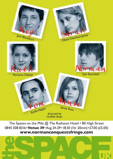 Edinburgh Festival leaflet back