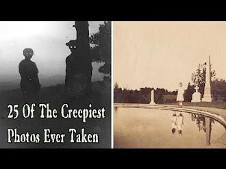 25 Most Creepiest Photos Ever! / Las 25 Fotos más Escalofríantes