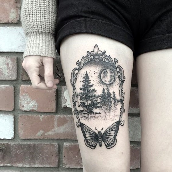Deep and Super Cool Forest Tattoo Ideas (13)